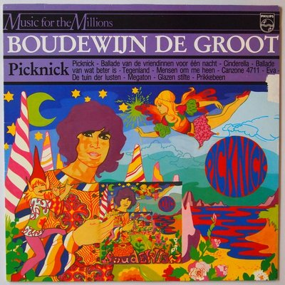 Boudewijn de Groot - Picknick - LP