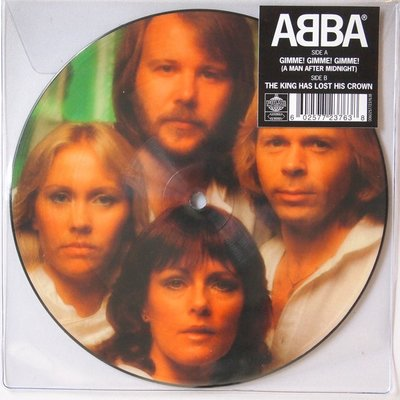 Abba - Gimme! Gimme! Gimme! / The king has lost his crown - Single