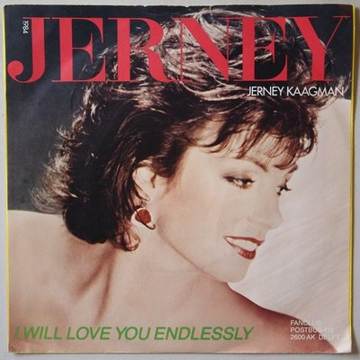 Jerney Kaagman - I will love you endlessly - Single