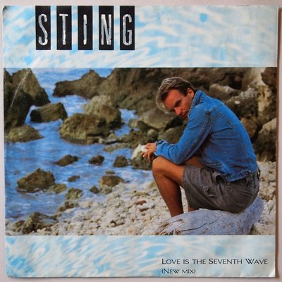 Sting - Love is the seventh wave - Single