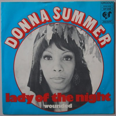 Donna Summer - Lady of the night - Single