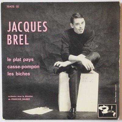 Jacques Brel - Le plat pays - Single