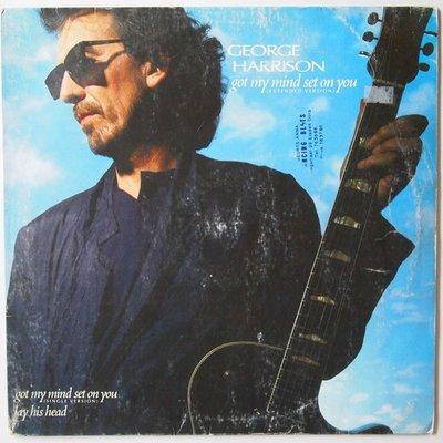 "George Harrison - Got my mind set on you - 12"""