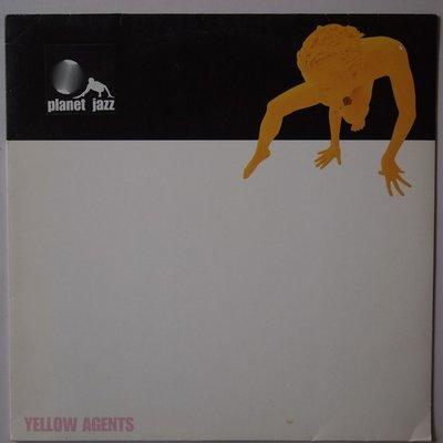 "Planet Jazz - Yellow agents - 12"""