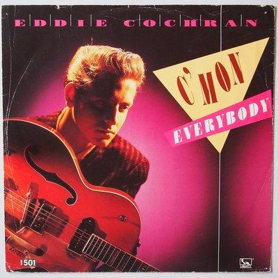 "Eddie Cochran - C'mon everybody - 12"""