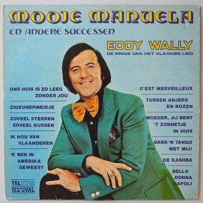 Eddy Wally - Mooie Manuela - LP