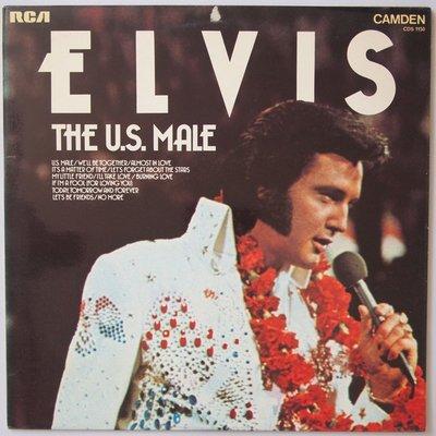 Elvis Presley - The U.S. male - LP