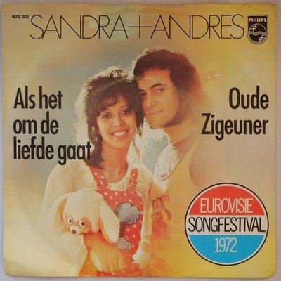 Sandra & Andres - Als het om de liefde gaat - Single