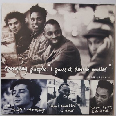 """Everyday People - I guess it doesn't matter - 12"""""""