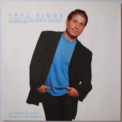 """Paul Simon - Diamonds on the soles of her shoes - 12"""""""