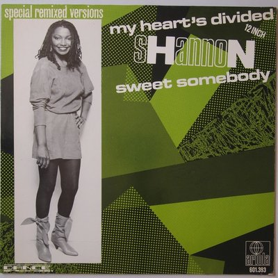 """Shannon - My hearts's divided - 12"""""""