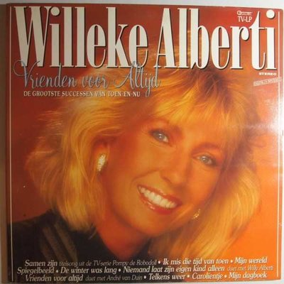Willeke Alberti - Vrienden voor altijd - LP