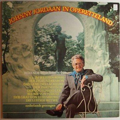 Johnny Jordaan - JohnnyJordaan in operetteland - LP