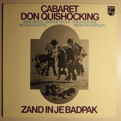 Cabaret Don Quishocking - Zand in je badpak - LP