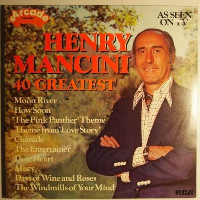 Henry Mancini - 40 Greatest - LP