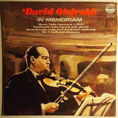 David Oistrakh - In memoriam - LP