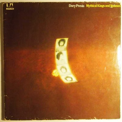 Dory Previn - Mythical kings and iguanas - LP