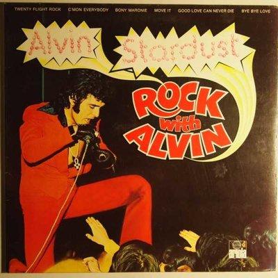 Alvin Stardust - Rock with Alvin - LP
