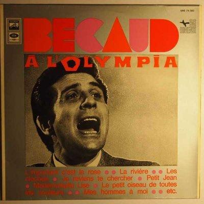 Gilbert Bécaud - Bécaud à L'Olympia - LP