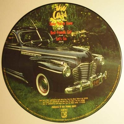 Cars, The - Since you're gone - PICTURE DISC - 12""
