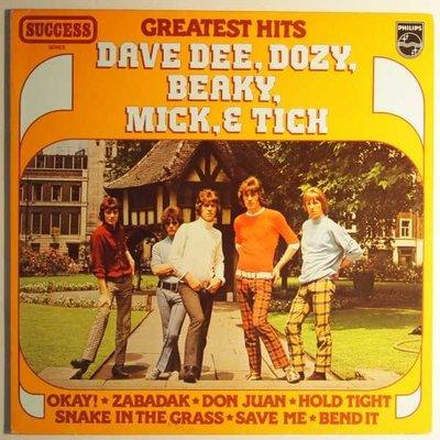 Dave Dee, Dozy, Beaky, Mick & Tich - Greatest Hits - LP