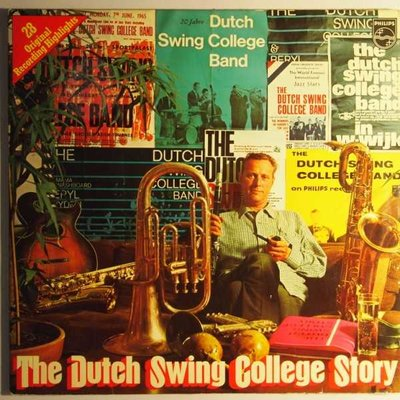 Dutch Swing College Band, The - The Dutch Swing College Story - LP