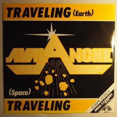 Avalanche - Traveling (Earth) - 12""