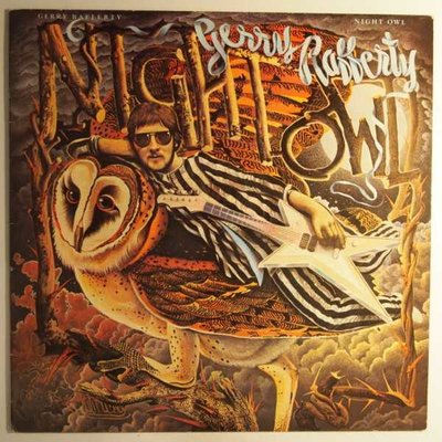 Gerry Rafferty - Night owl - LP