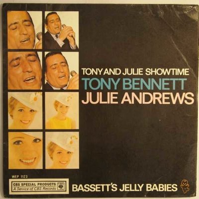 Tony Bennett & Julie Andrews - Tony and Julie showtime - EP
