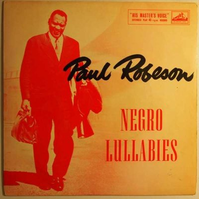 Paul Robeson - Negro lullabies - EP