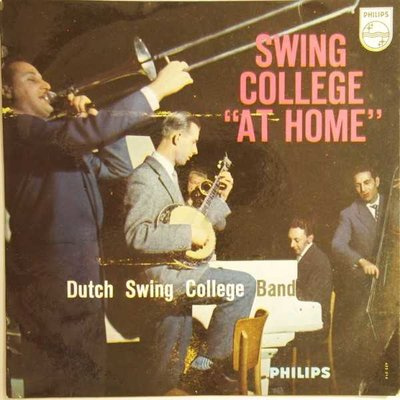 "Dutch Swing College Band - Swing college ""at home"" - EP"