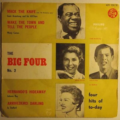 Louis Armstrong / Mindy Carson / Johnnie Ray / Jo Stafford - The big four no. 2 - EP