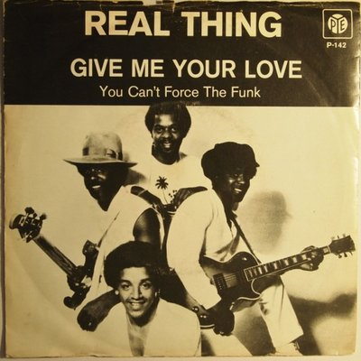 Real Thing - Give me your love - Single