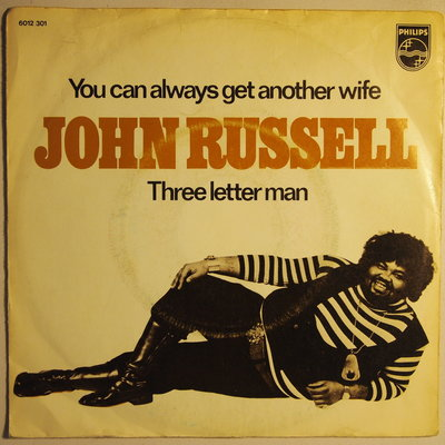 John Russell - You can always get another wife - Single