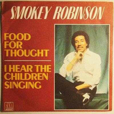 Smokey Robinson - Food for thought - Single