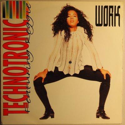 Technotronic - Work - Single