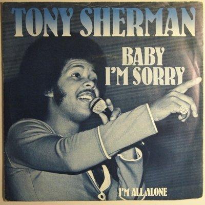 Tony Sherman - Baby I'm sorry - Single