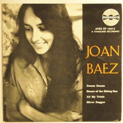 Joan Baez - Donna Donna / House of the rising sun - EP