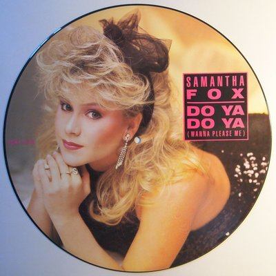 Samantha Fox - Do ya do ya (wanna please me) - 12""