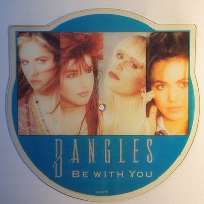 Bangles - Be with you - 10""