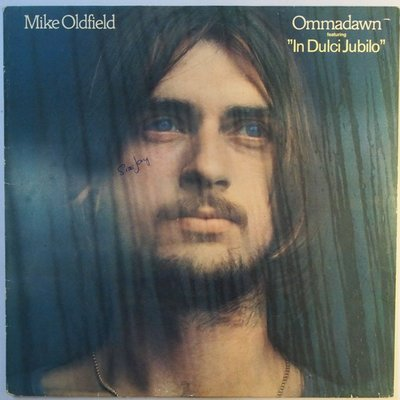 "Mike Oldfield - Ommadawn featuring ""In dulci jubilo"" - LP"
