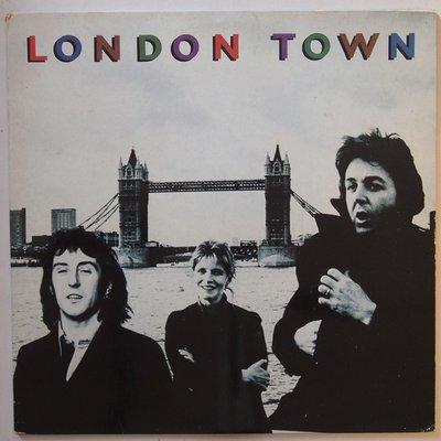 Wings - London Town - LP