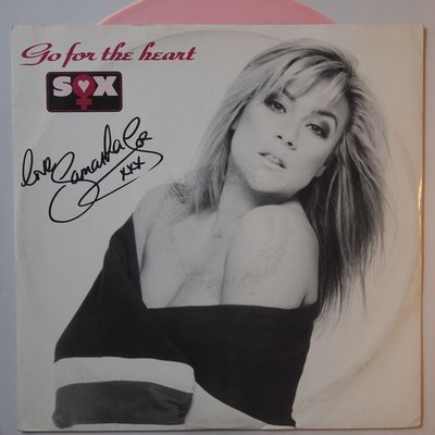 Samantha Fox - Go for the heart - 12""