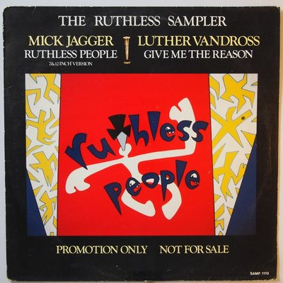 Mick Jagger / Luther Vandross - The ruthless sampler  - 12""
