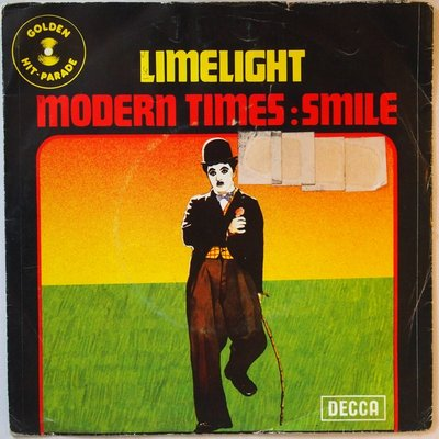 Mantovani / Stanley Black ? - Limelight / Modern times:Smile - Single