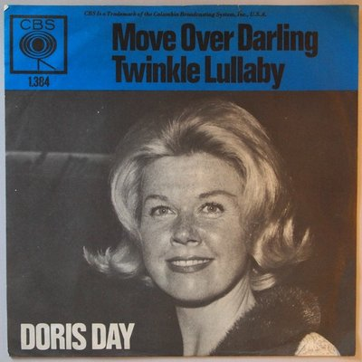 Doris Day - Move over darling - Single
