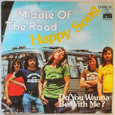 Middle Of The Road - Happy song - Single