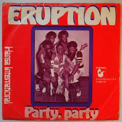 Eruption - Party, party - Single