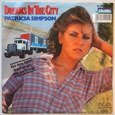 Patricia Simpson - Dreams in the city - Single