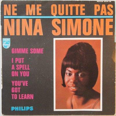 Nina Simone - Ne me quitte pas - EP